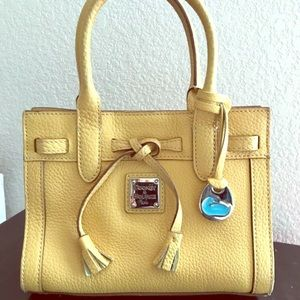 Yellow Leather Dooney & Bourke Tote